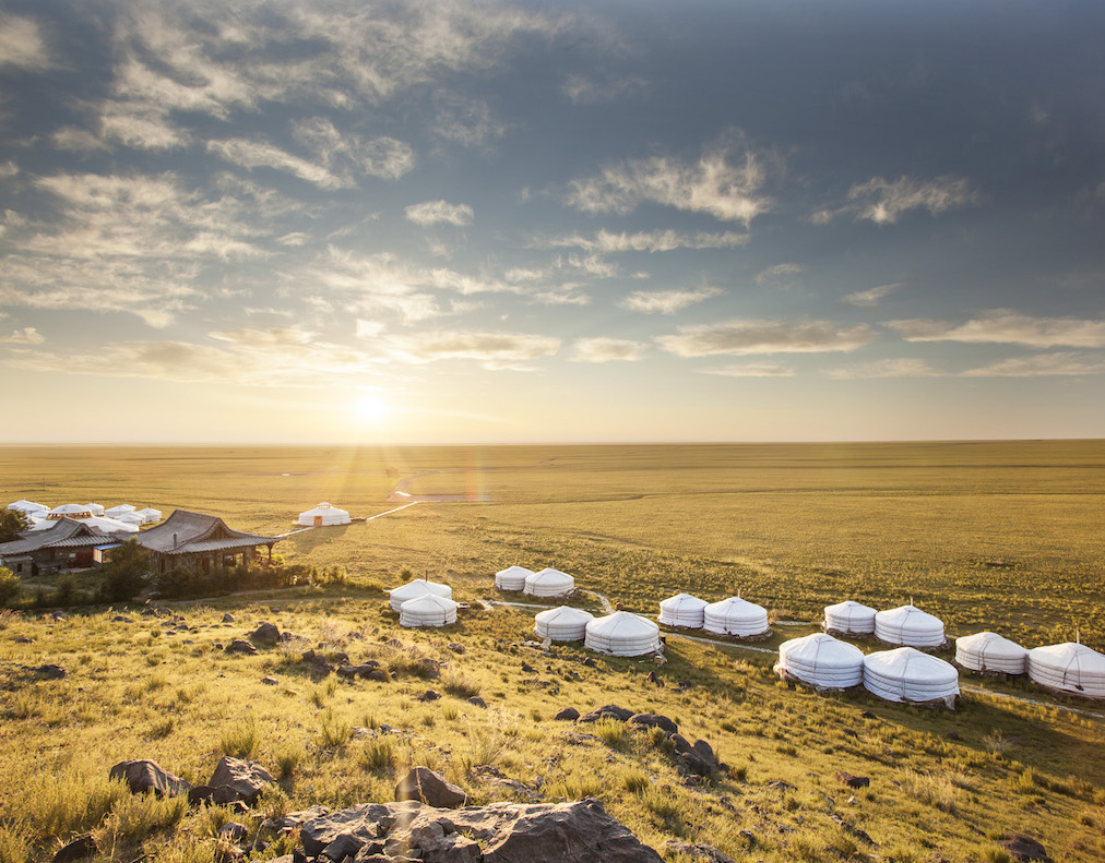 Three Camel Lodge / Mongolia