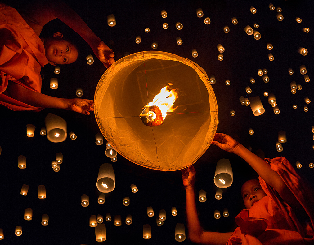 Festival of Lights, Laos